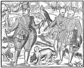 Falconry in the 17th century