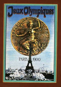 Olympic Games poster, Paris 1900