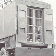 Pigeon wagon World War 1