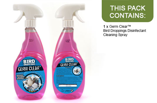Buy Germ Clear™ Bird Droppings Disinfectant Cleaning Spray