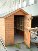 Pigeon Loft used for Breeding Control
