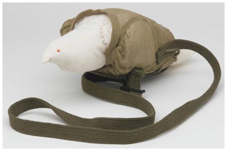 Pigeon carrying vest World War 2