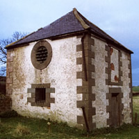 Dovecote at Weetwood Hall